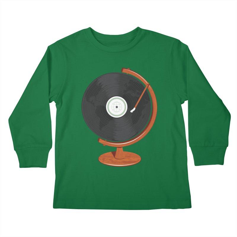 World Record Kids Longsleeve T-Shirt by Ryder Doty Shop