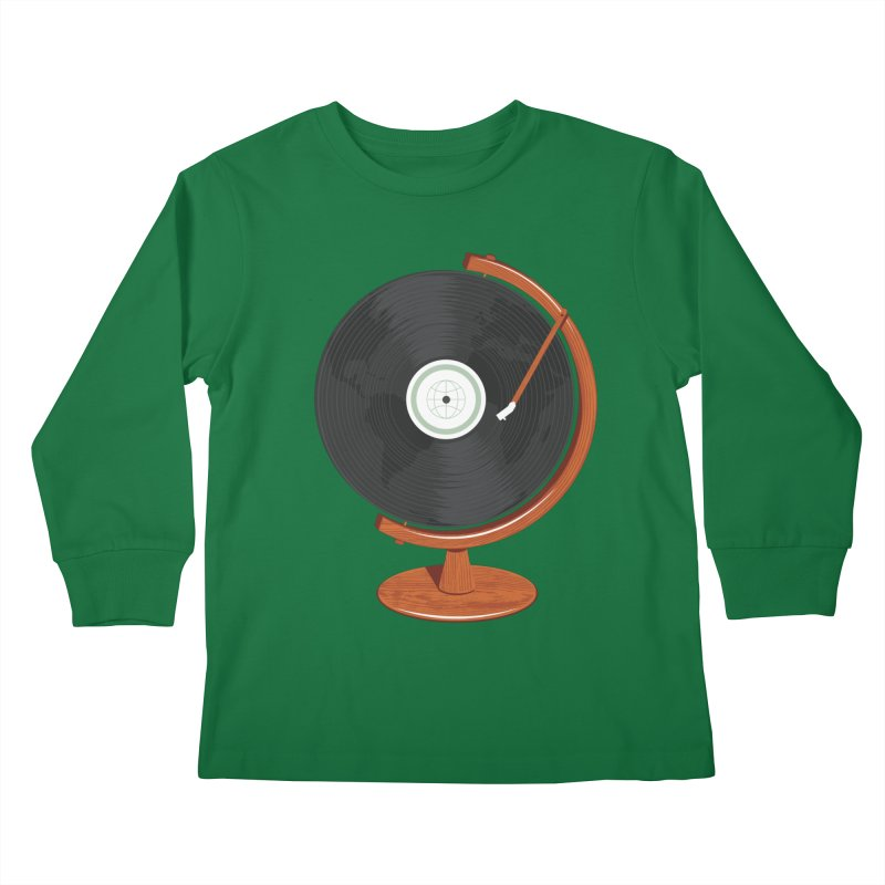 World Record Kids Longsleeve T-Shirt by Ryder Doty Design Shop