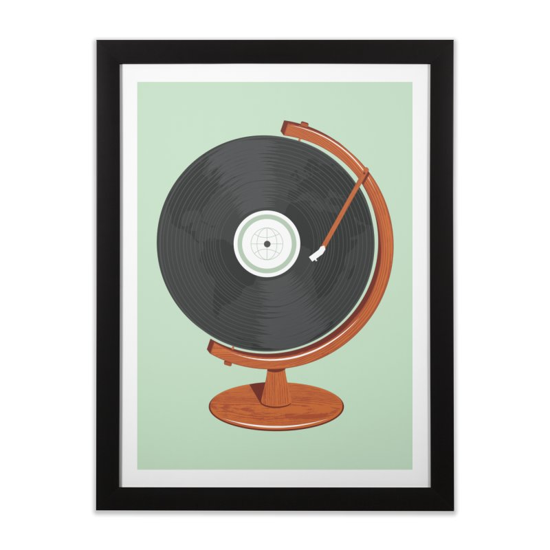 World Record Home Framed Fine Art Print by Ryder Doty Shop