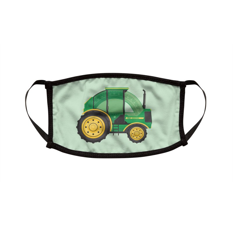 Protractor Accessories Face Mask by Ryder Doty Shop