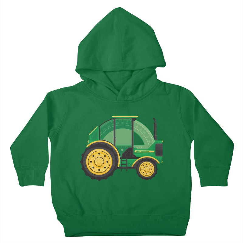 Protractor Kids Toddler Pullover Hoody by Ryder Doty Shop