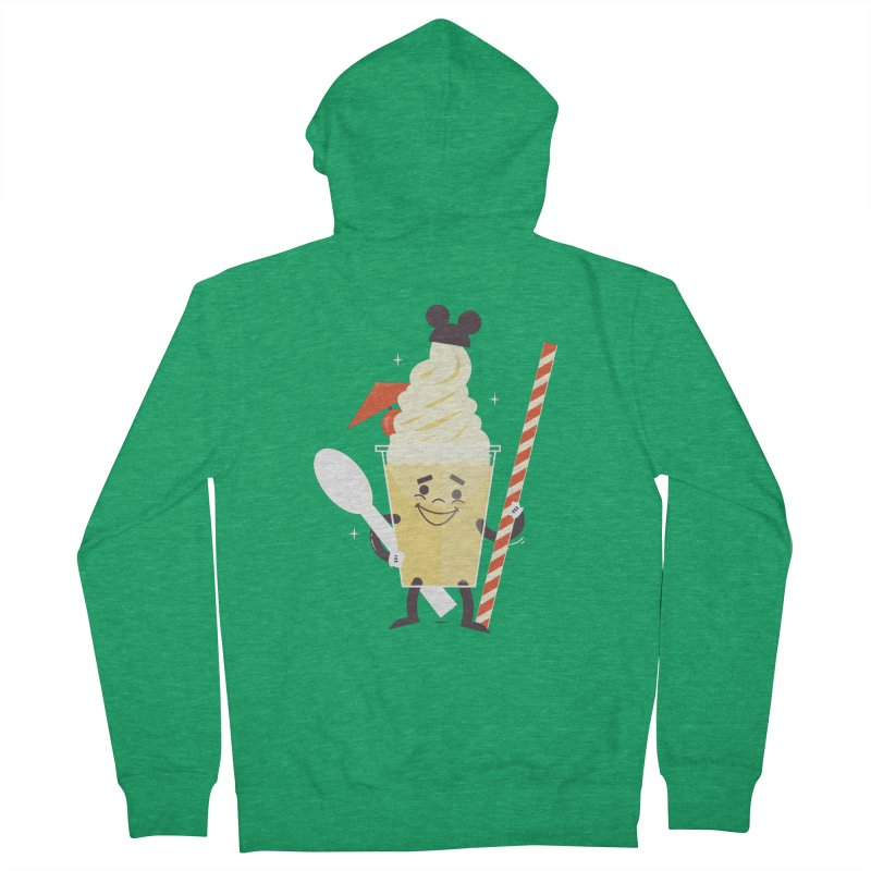 Dole Whip Women's Zip-Up Hoody by Ryder Doty Shop