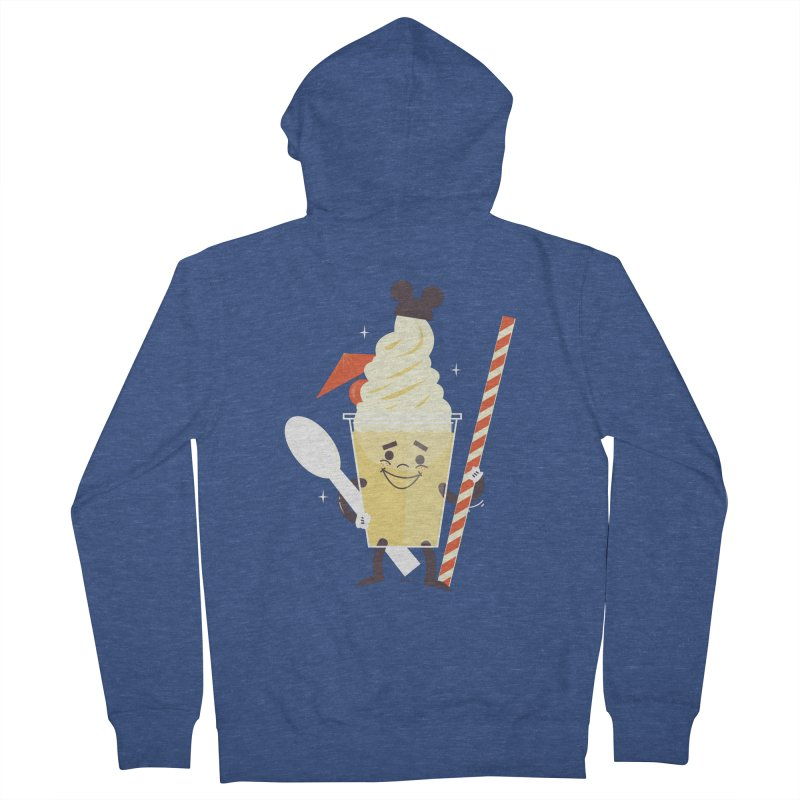 Dole Whip Women's French Terry Zip-Up Hoody by Ryder Doty Shop