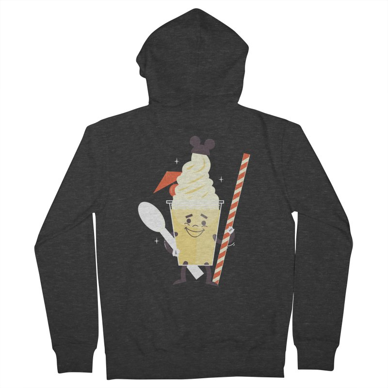 Dole Whip Men's Zip-Up Hoody by Ryder Doty Design Shop