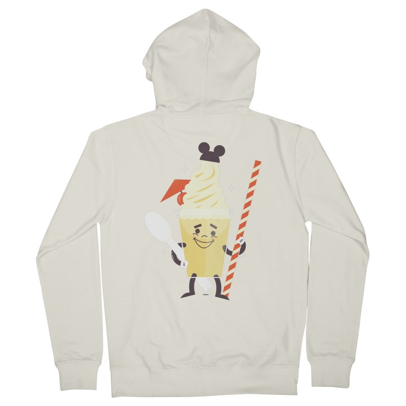 Dole Whip Men's French Terry Zip-Up Hoody by Ryder Doty Shop