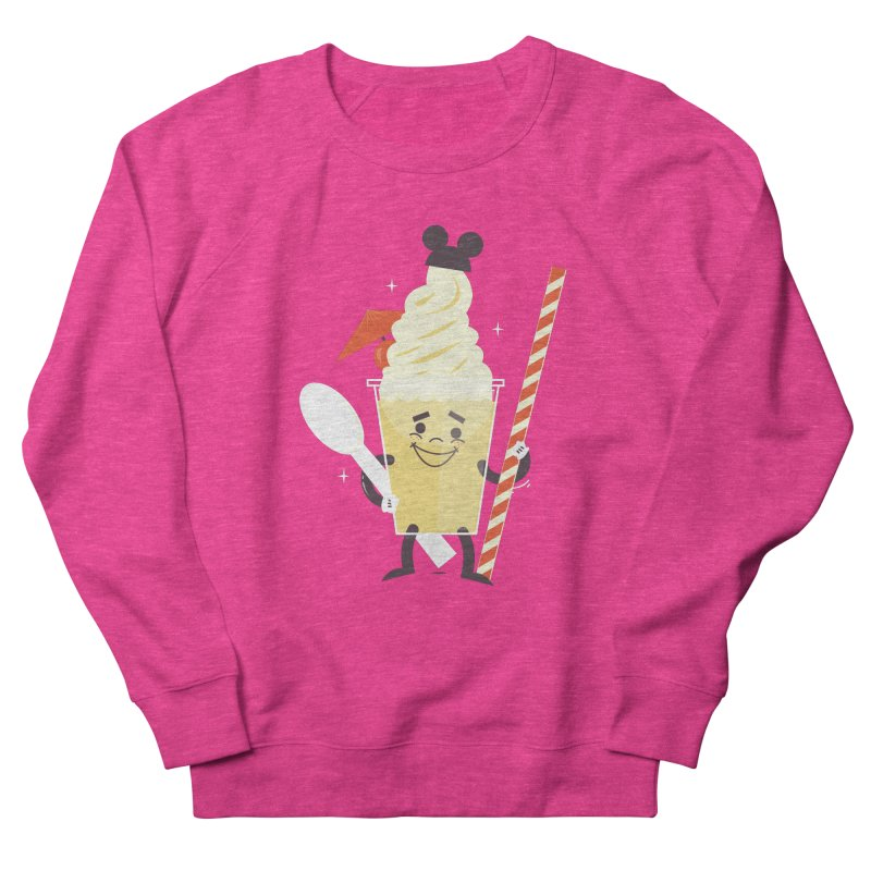 Dole Whip Women's French Terry Sweatshirt by Ryder Doty Shop