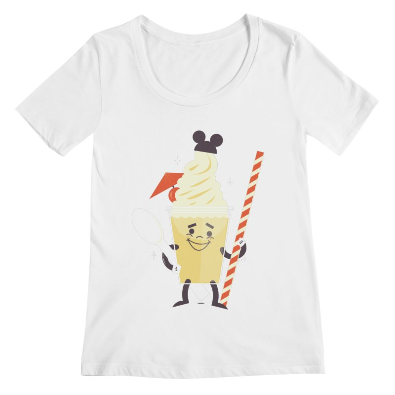 Dole Whip Women's Scoopneck by Ryder Doty Shop