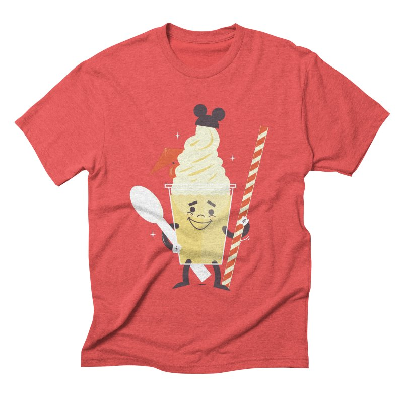 Dole Whip Men's Triblend T-shirt by Ryder Doty Design Shop