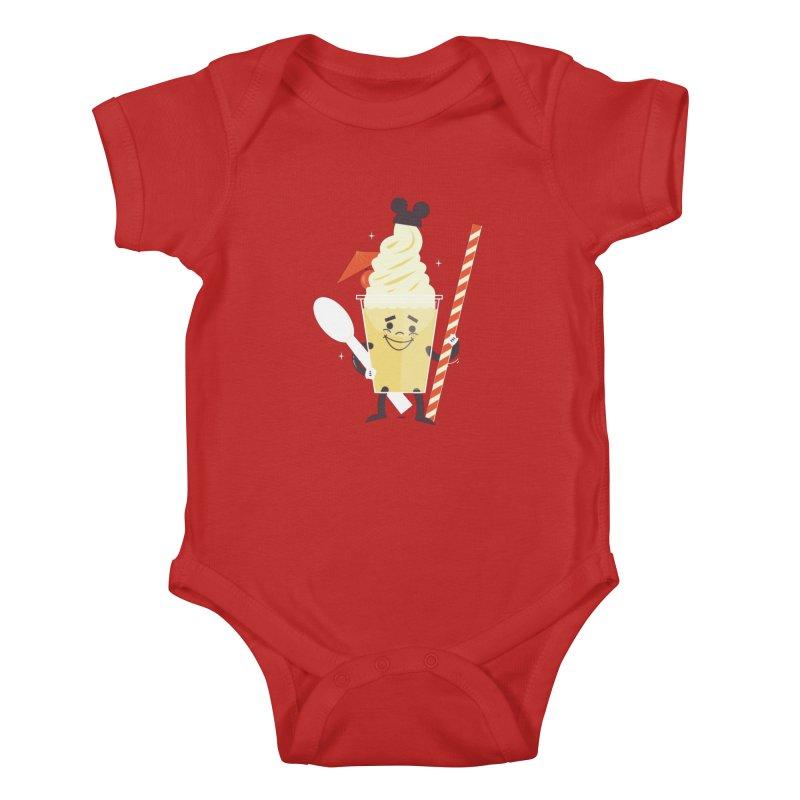 Dole Whip Kids Baby Bodysuit by Ryder Doty Shop