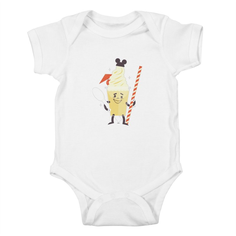 Dole Whip Kids Baby Bodysuit by Ryder Doty Shop