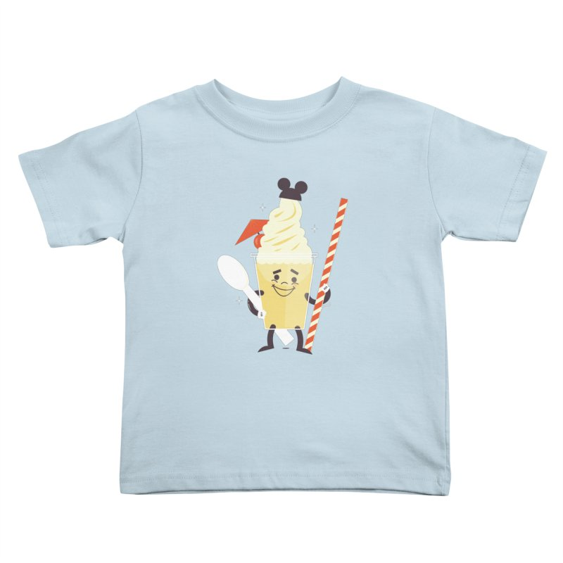 Dole Whip Kids Toddler T-Shirt by Ryder Doty Design Shop