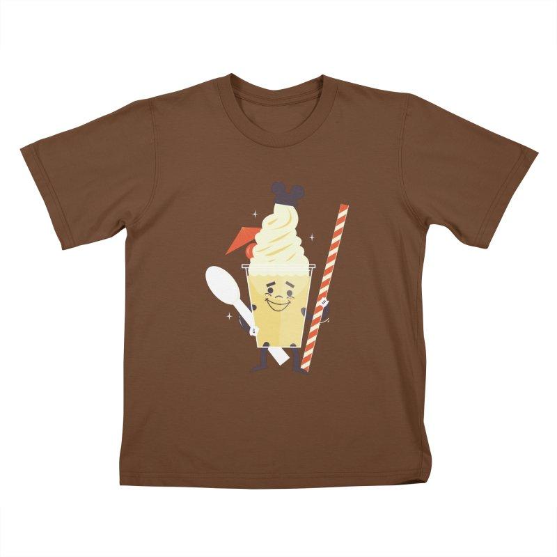 Dole Whip Kids T-shirt by Ryder Doty Design Shop