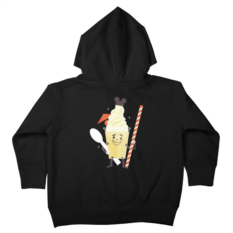 Dole Whip Kids Toddler Zip-Up Hoody by Ryder Doty Design Shop