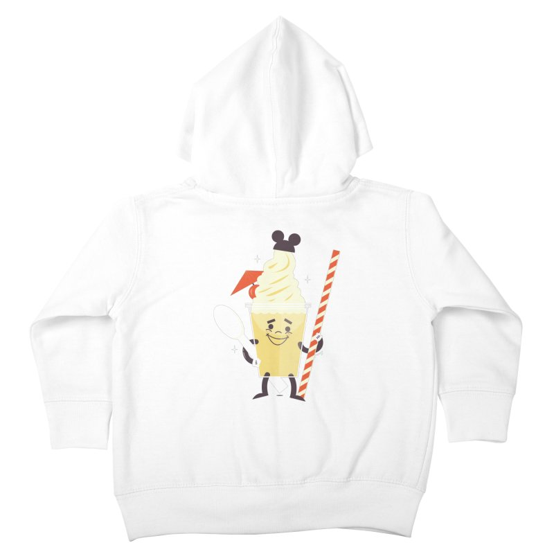 Dole Whip Kids Toddler Zip-Up Hoody by Ryder Doty Shop