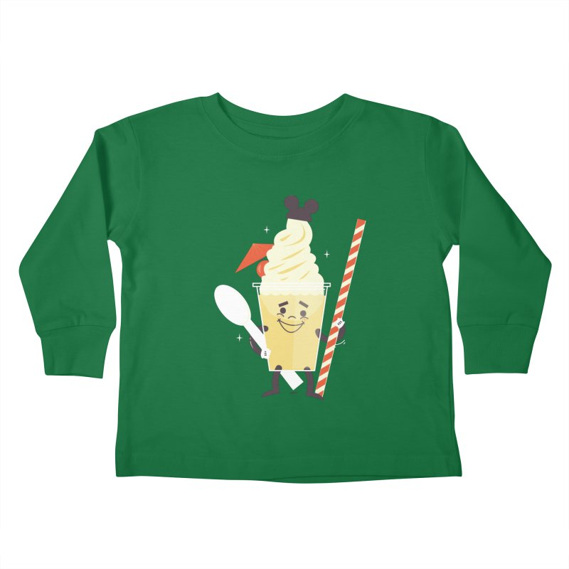 Dole Whip Kids Toddler Longsleeve T-Shirt by Ryder Doty Shop