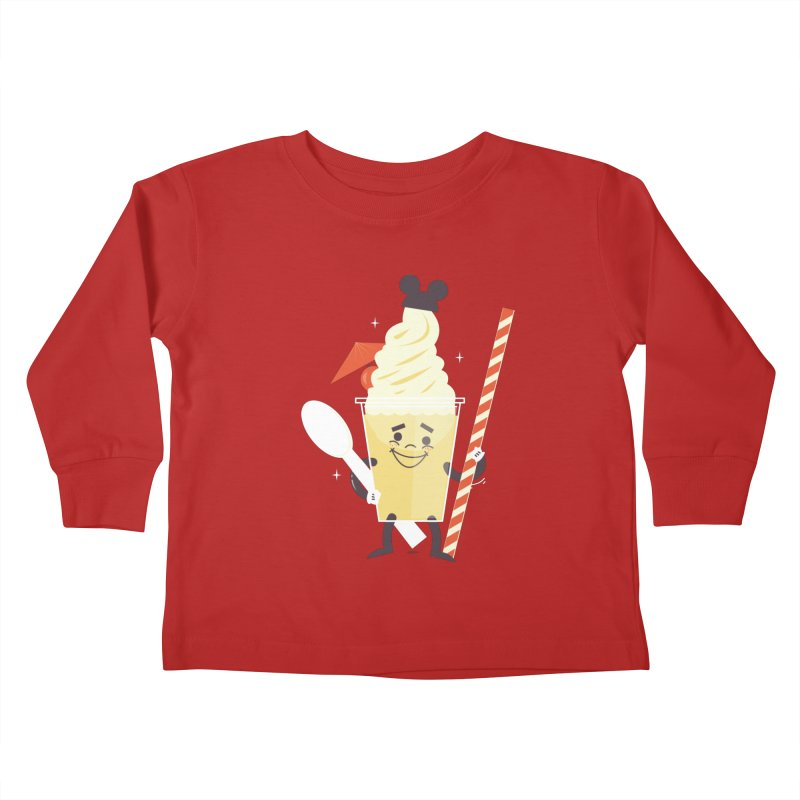 Dole Whip Kids Toddler Longsleeve T-Shirt by Ryder Doty Design Shop