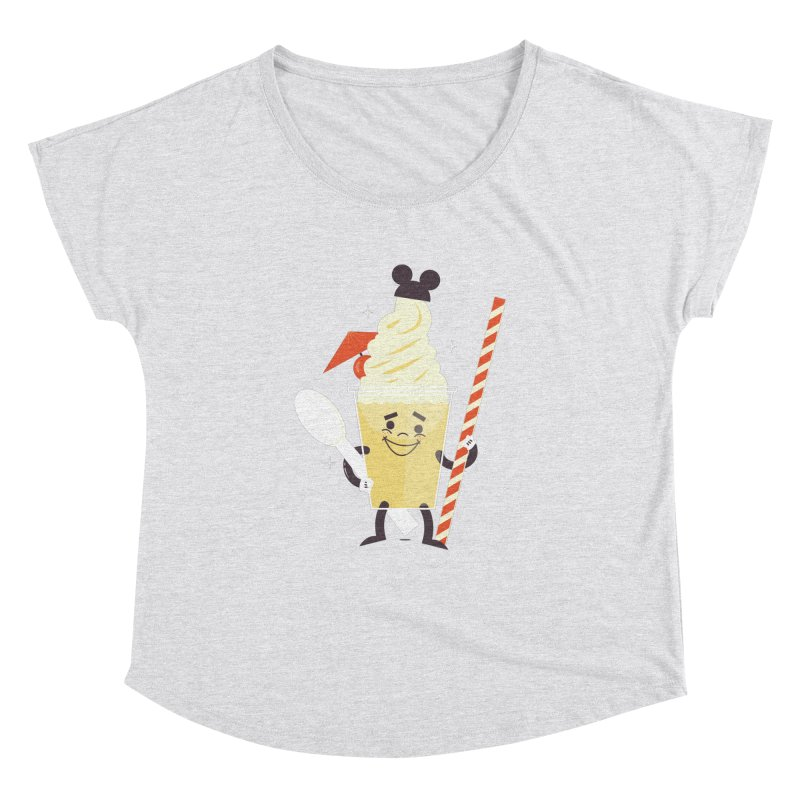 Dole Whip Women's Dolman Scoop Neck by Ryder Doty Shop