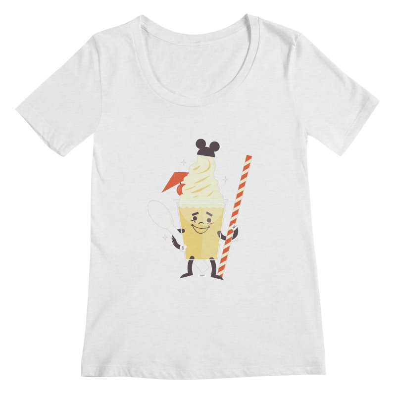 Dole Whip Women's Regular Scoop Neck by Ryder Doty Shop