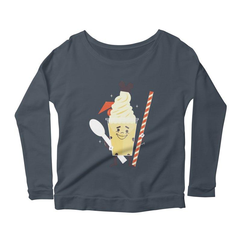 Dole Whip Women's Scoop Neck Longsleeve T-Shirt by Ryder Doty Shop