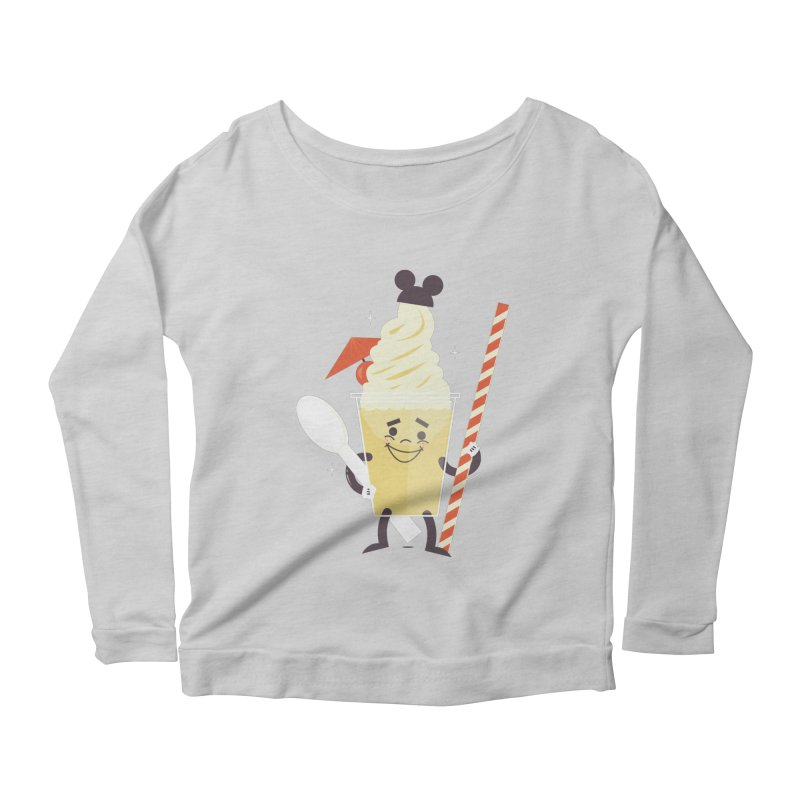 Dole Whip Women's Scoop Neck Longsleeve T-Shirt by Ryder Doty Shop
