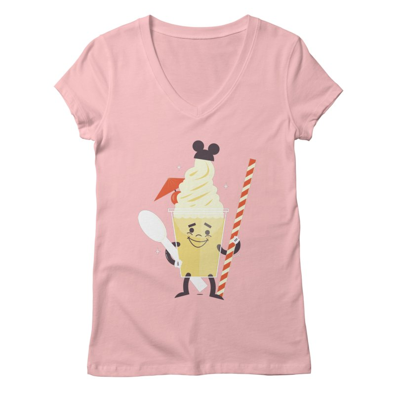 Dole Whip Women's Regular V-Neck by Ryder Doty Shop