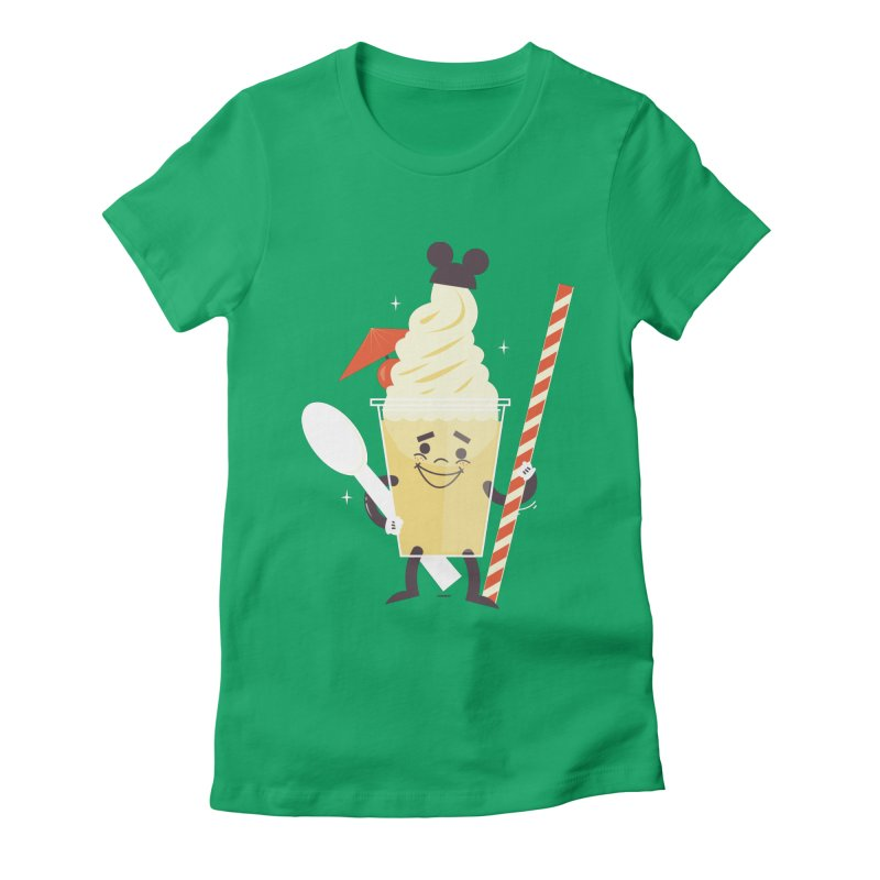 Dole Whip Women's Fitted T-Shirt by Ryder Doty Shop