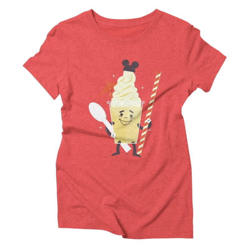 Dole Whip Women's Triblend T-Shirt by Ryder Doty Shop