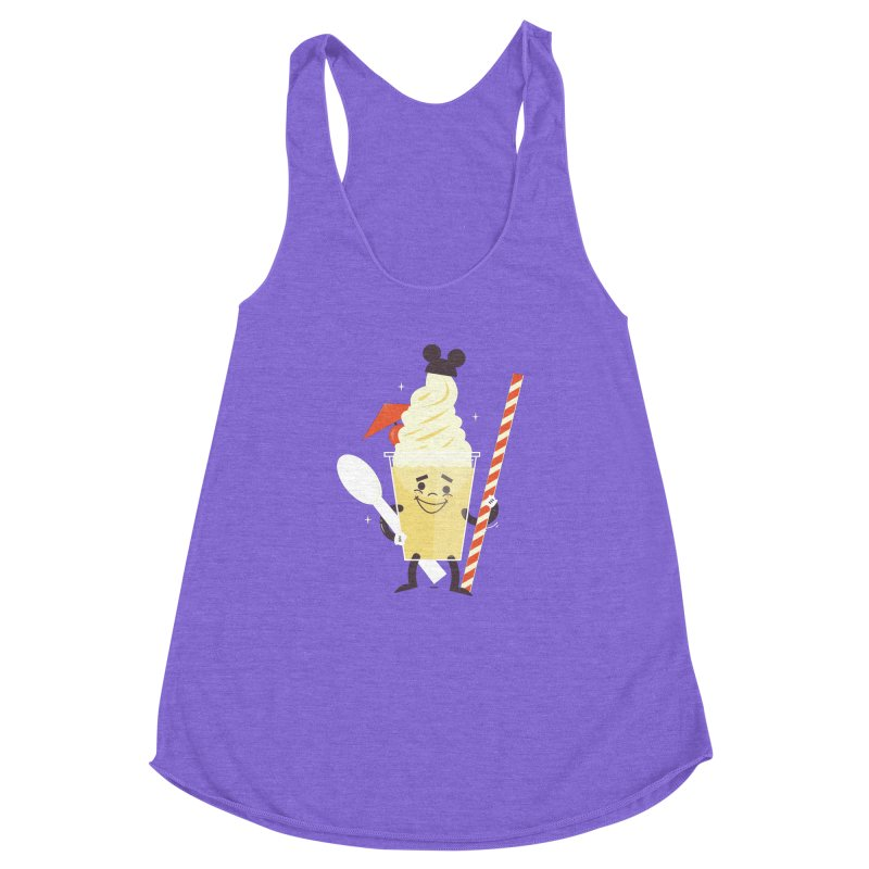 Dole Whip Women's Racerback Triblend Tank by Ryder Doty Design Shop