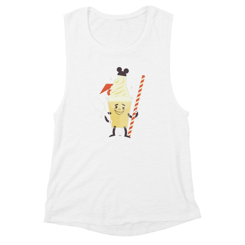 Dole Whip Women's Muscle Tank by Ryder Doty Shop