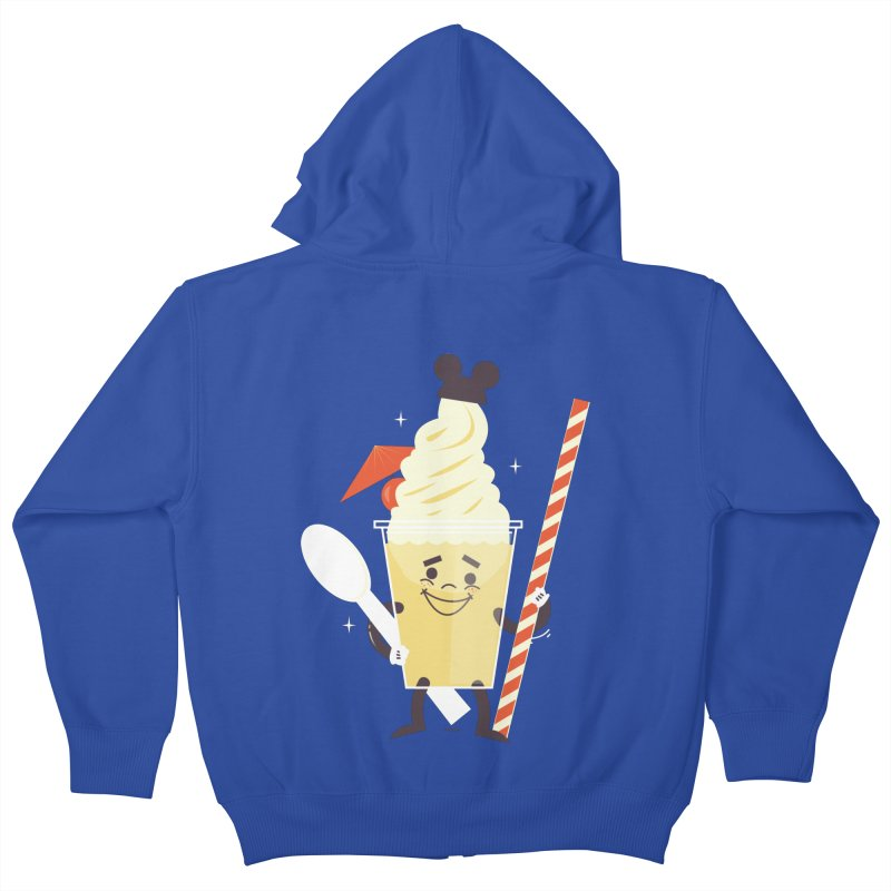 Dole Whip Kids Zip-Up Hoody by Ryder Doty Design Shop