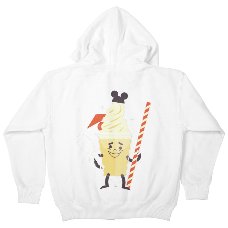 Dole Whip Kids Zip-Up Hoody by Ryder Doty Shop