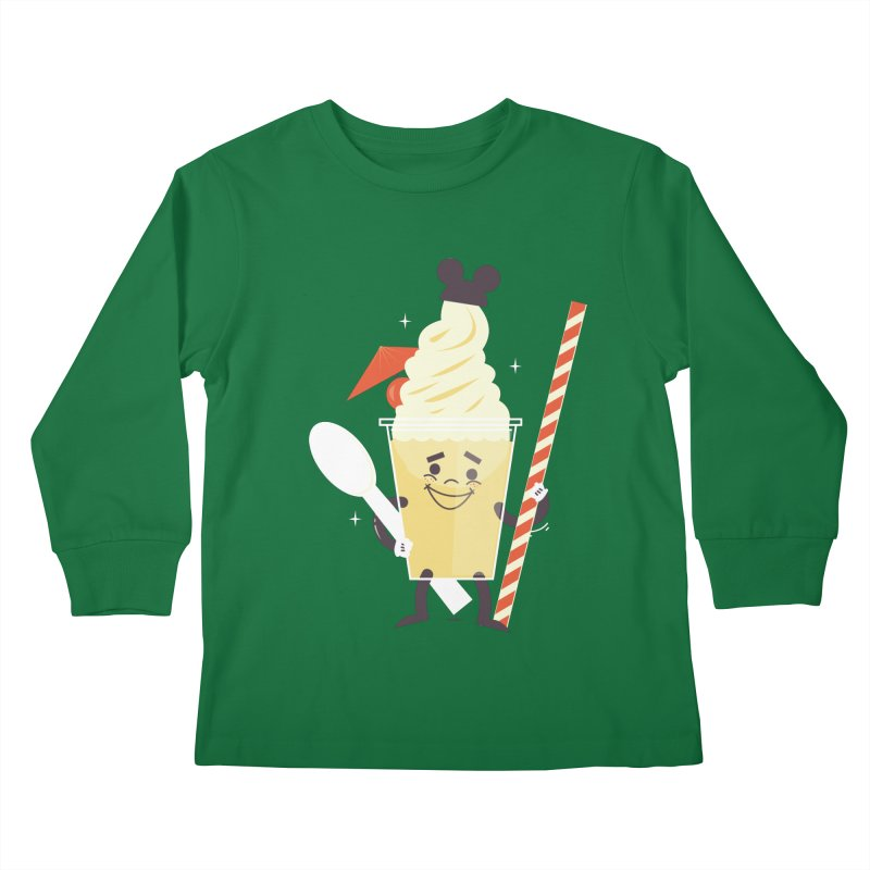 Dole Whip Kids Longsleeve T-Shirt by Ryder Doty Design Shop