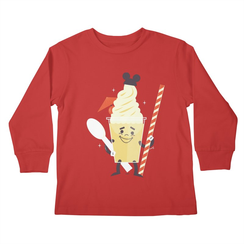 Dole Whip Kids Longsleeve T-Shirt by Ryder Doty Shop