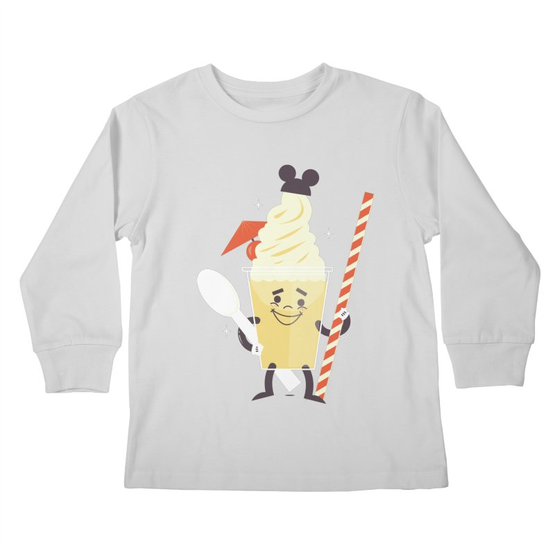 Dole Whip Kids Longsleeve T-Shirt by Ryder Doty Shop