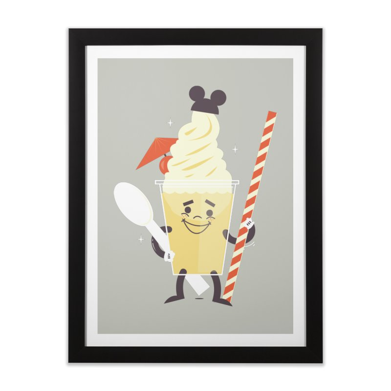 Dole Whip Home Framed Fine Art Print by Ryder Doty Shop