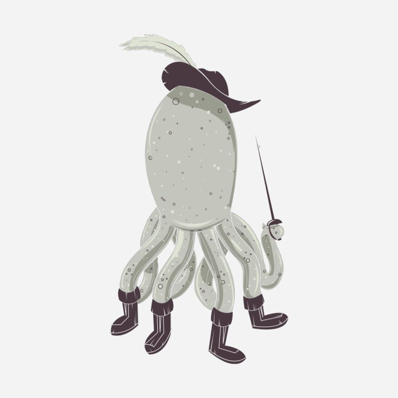 Octopus in Boots by Ryder Doty Shop