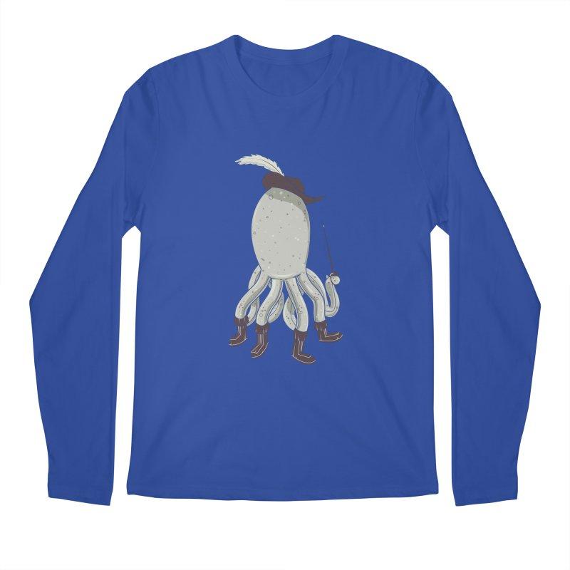 Octopus in Boots Men's Longsleeve T-Shirt by Ryder Doty Shop