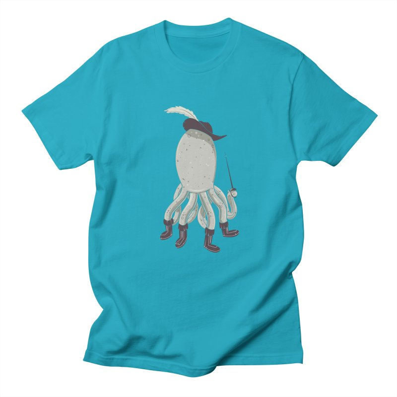 Octopus in Boots Men's T-Shirt by Ryder Doty Shop