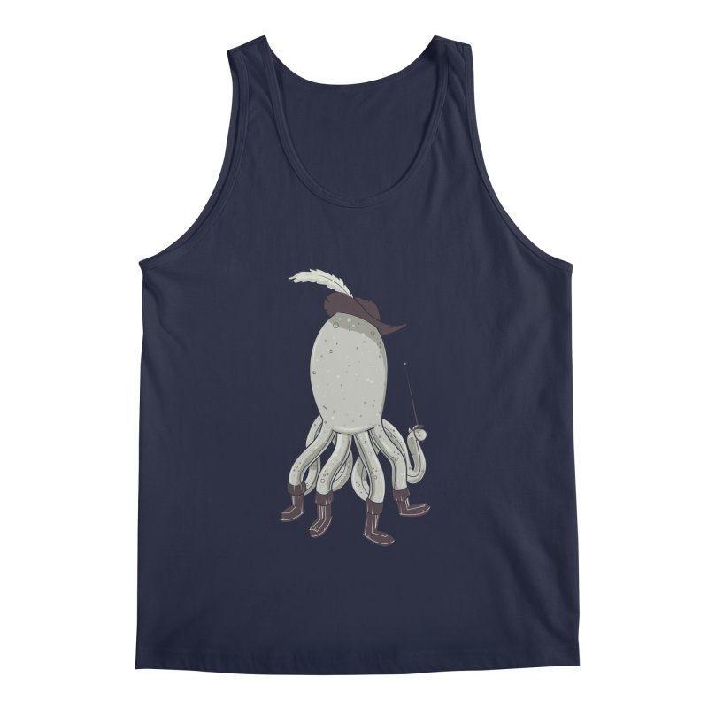 Octopus in Boots Men's Regular Tank by Ryder Doty Shop