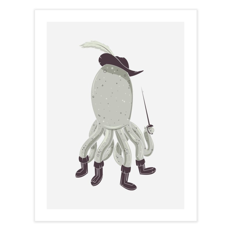 Octopus in Boots   by Ryder Doty Design Shop