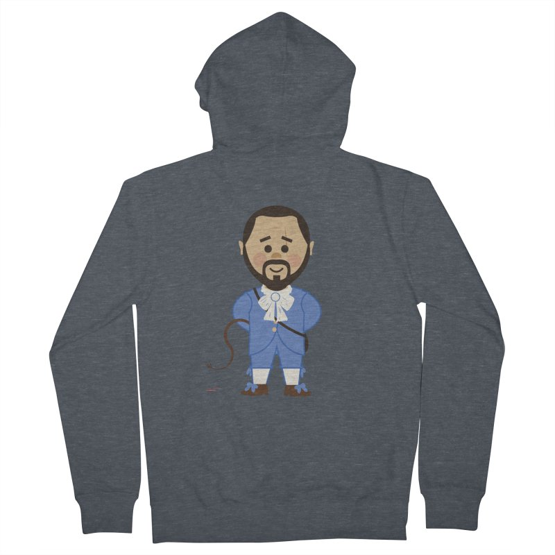 Django Unchained Men's French Terry Zip-Up Hoody by Ryder Doty Shop