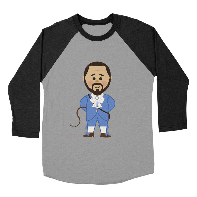 Django Unchained Women's Baseball Triblend Longsleeve T-Shirt by Ryder Doty Shop