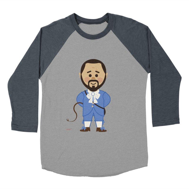 Django Unchained Men's Baseball Triblend Longsleeve T-Shirt by Ryder Doty Shop