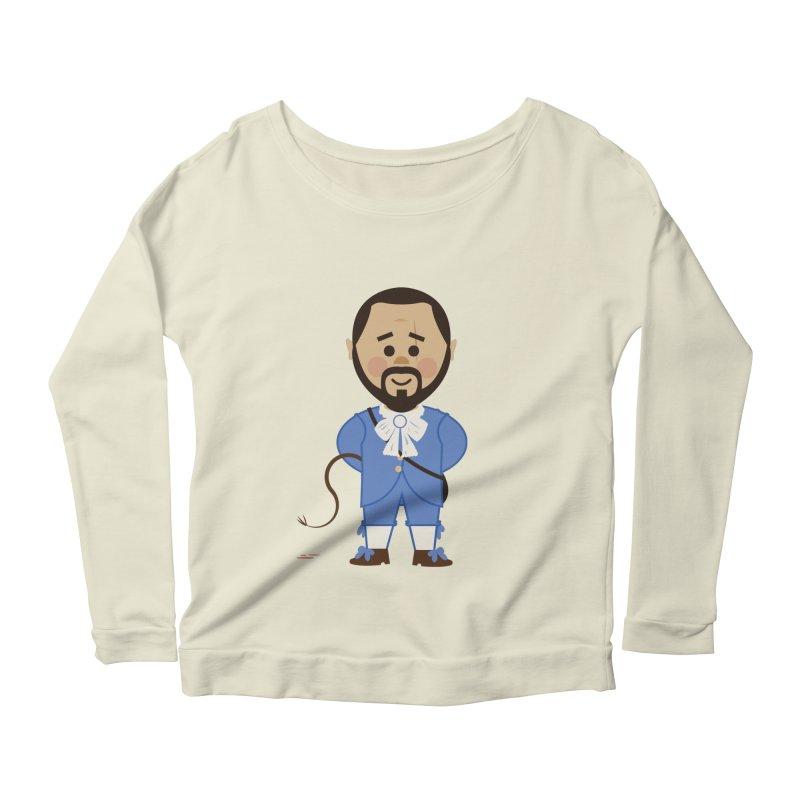 Django Unchained Women's Scoop Neck Longsleeve T-Shirt by Ryder Doty Shop