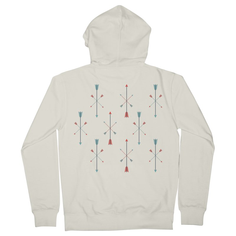 Arrows Men's French Terry Zip-Up Hoody by Ryder Doty Shop