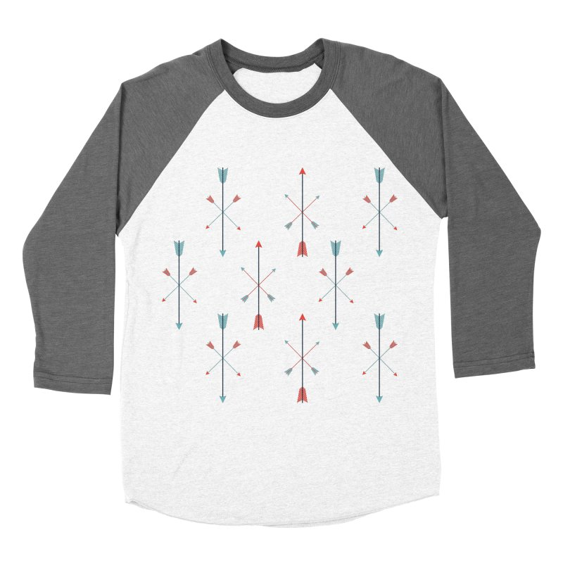 Arrows Women's Baseball Triblend Longsleeve T-Shirt by Ryder Doty Shop