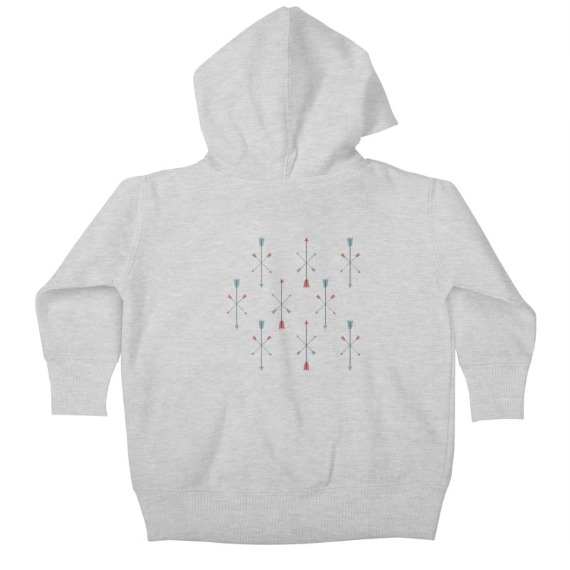 Arrows Kids Baby Zip-Up Hoody by Ryder Doty Shop