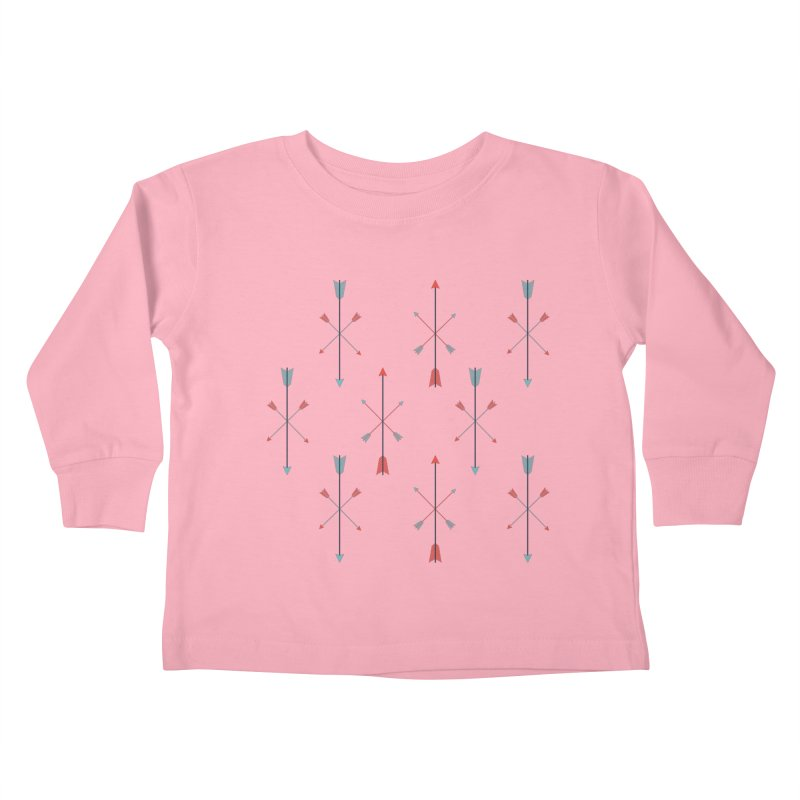 Arrows Kids Toddler Longsleeve T-Shirt by Ryder Doty Shop