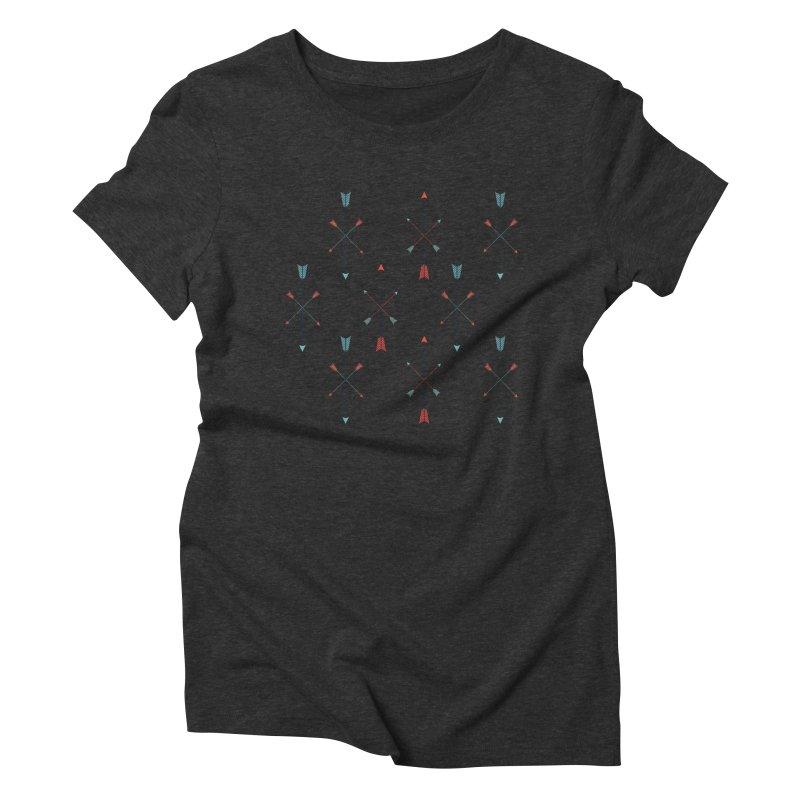 Arrows Women's Triblend T-Shirt by Ryder Doty Shop
