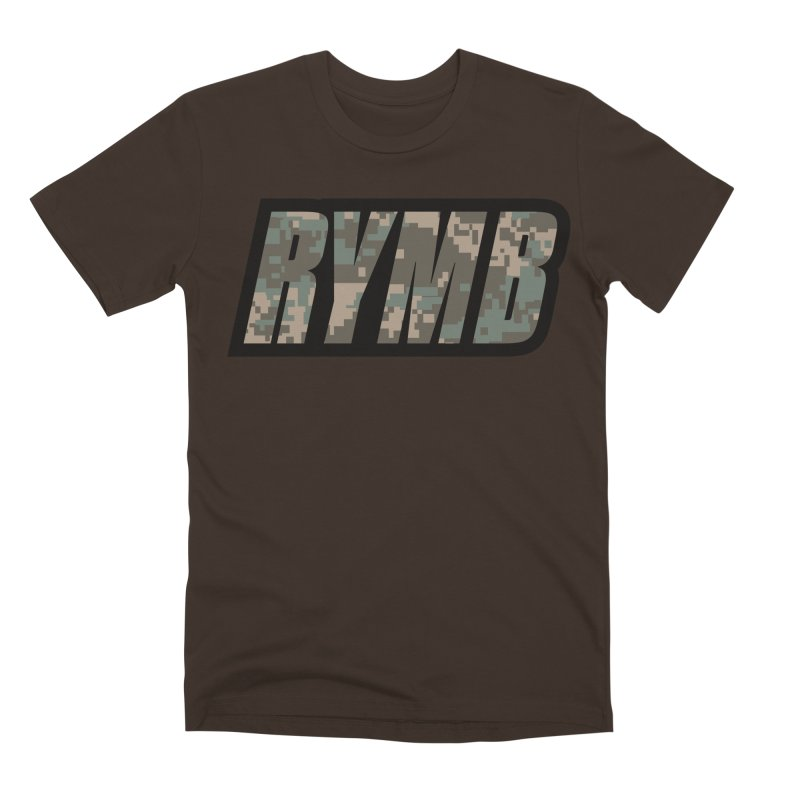 RYMB Camo Men's Premium T-Shirt by RYMB Everyday
